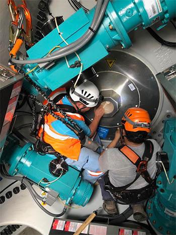 FPT Global wind turbine maintenance