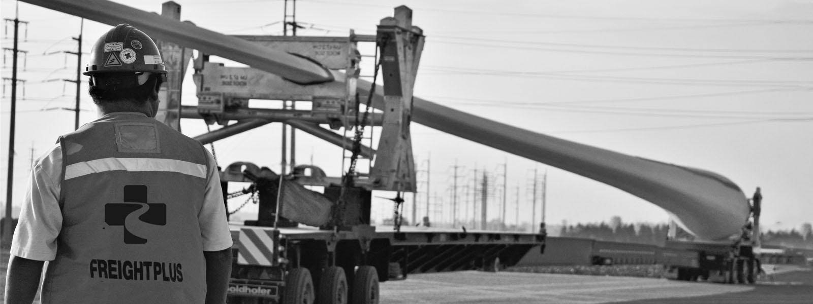 FPT Global wind turbine blade transport